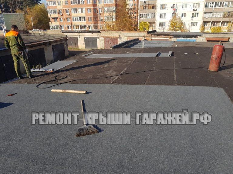 Гарнтии на ремонт крыши гаража