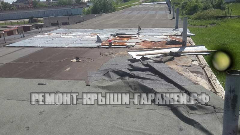 Ремонт крыши гаража Большие Вязёмы 4