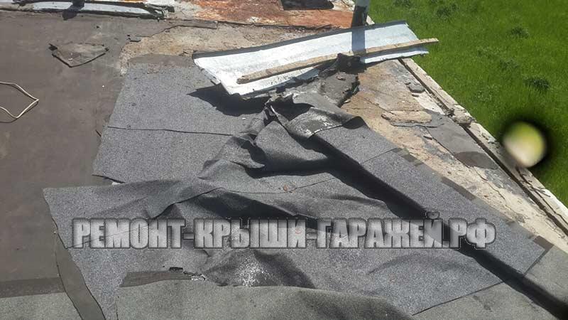 Ремонт крыши гаража Большие Вязёмы 3