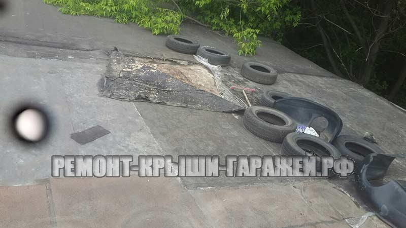 Ремонт крыши гаража в Волоколамске 1