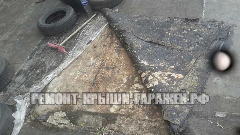 Ремонт крыши гаража в Волоколамске 2