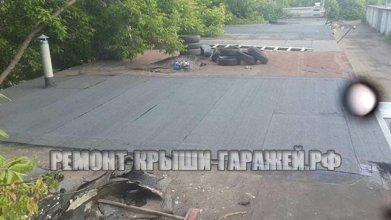 Ремонт крыши гаража в Волоколамске 4