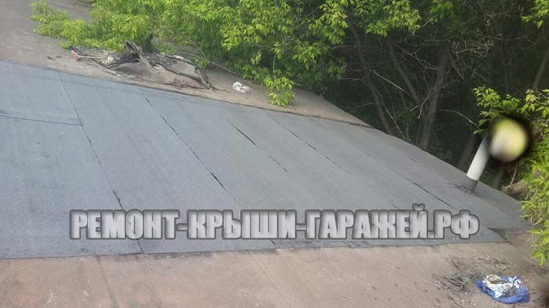 Ремонт крыши гаража в Волоколамске 5