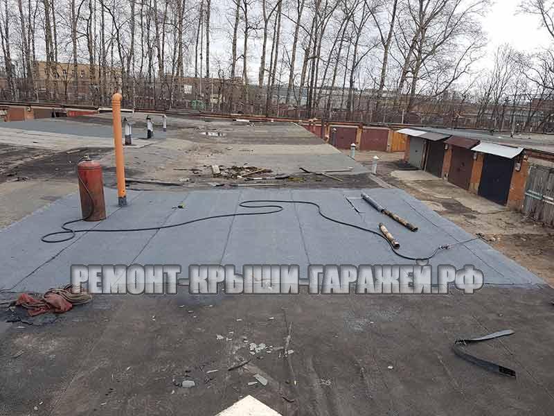 ремонт крыши гаража в Химки 1