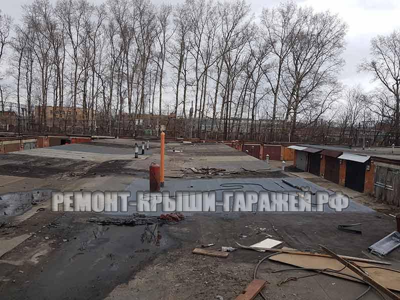 ремонт крыши гаража в Химки 2