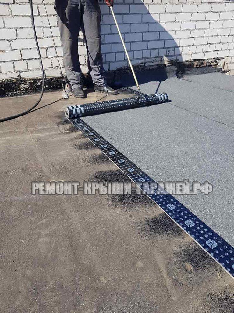 Ремонт крыши гаража Зеленоград ГСК Исток-96-7