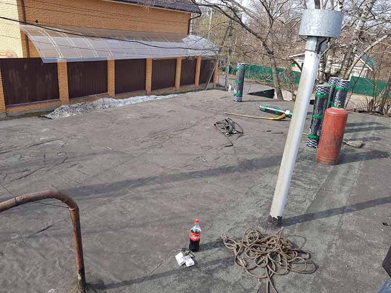 Ремонт крыши гаража Сергиев Посад