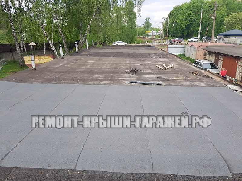 Ремонт крыши гаража Королёв 2