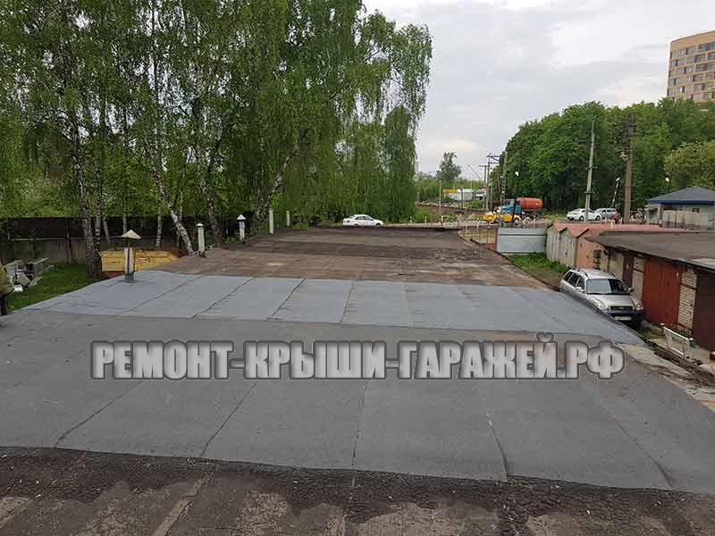 Ремонт крыши гаража Королёв 3