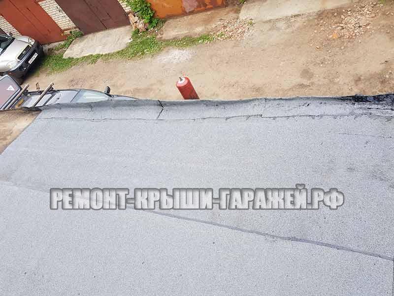 Ремонт крыши гаража Королёв 5