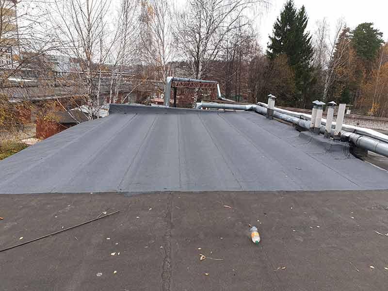 ремонт крыши гаража в дмитрове